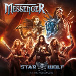 MessengeR: Starwolf - Cover illustration